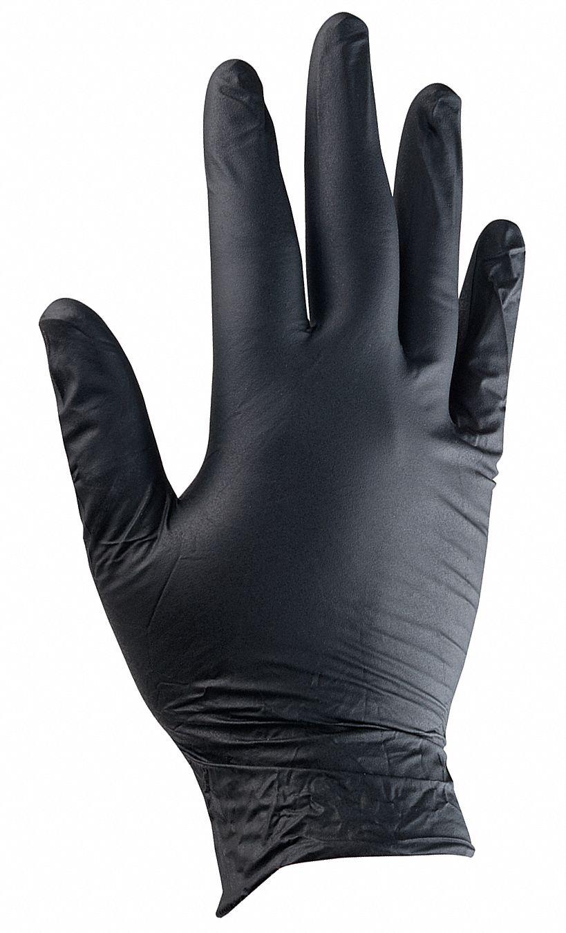 black nitril gloves